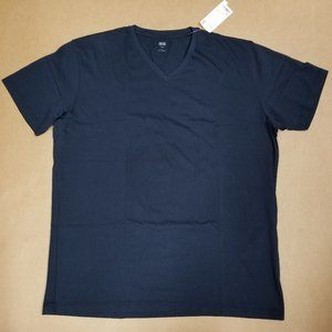 Uniqlo Supima V-Neck T-Shirt Mens Size X-Large
